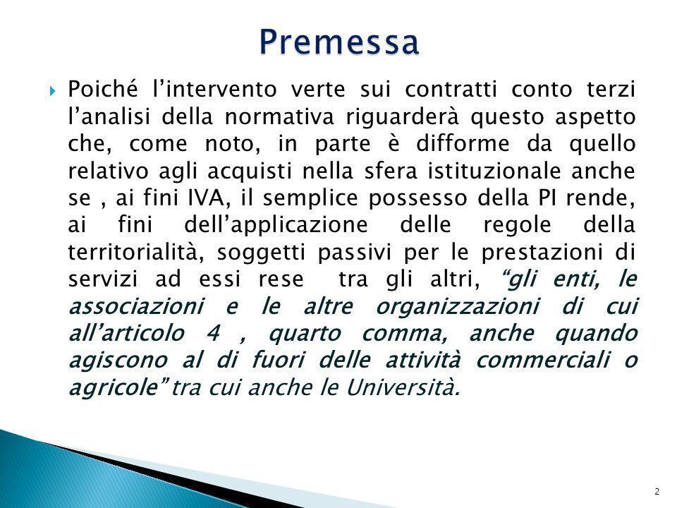 13 ASL di Roma 5 – Via G.Carducci, 40 CF e PI 93008800505 CODICE IDENTFICATIVO IVA: IT93008800505 Spett.le John Brown 25 Daily Street LONDON VAT:GB345678901 Fattura nr.53 del 14 Marzo 2010 Servizi di consulenza per rilevazione telomeri di DNA murino IMPONIBILE: 1000,00 Operazione non soggetta per carenza del requisito territoriale ai sensi art.