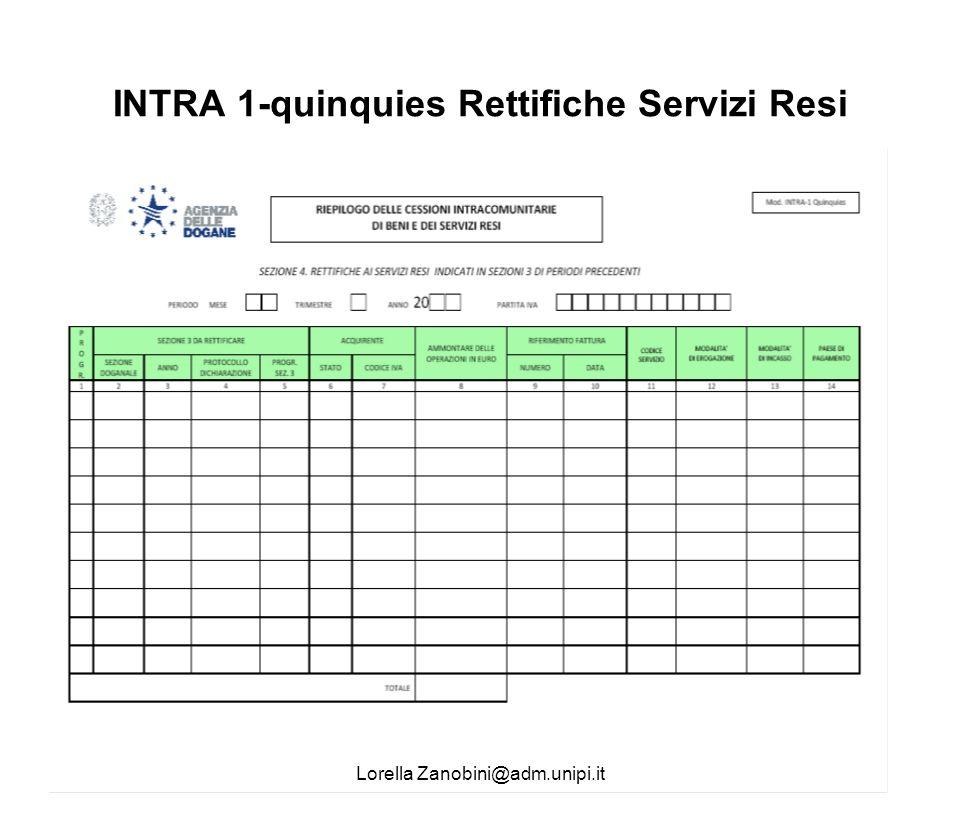 INTRA 1-quinquies Rettifiche Servizi Resi Lorella Zanobini@adm.unipi.it