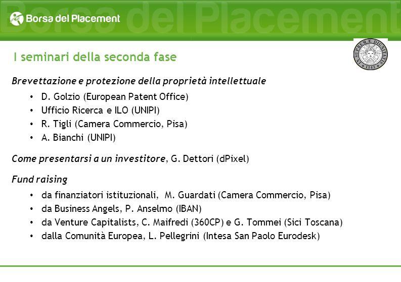 Brevettazione e protezione della proprietà intellettuale D. Golzio (European Patent Office) Ufficio Ricerca e ILO (UNIPI) R. Tigli (Camera Commercio,