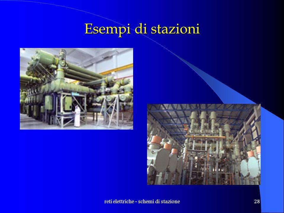 reti elettriche - schemi di stazione28 Esempi di stazioni