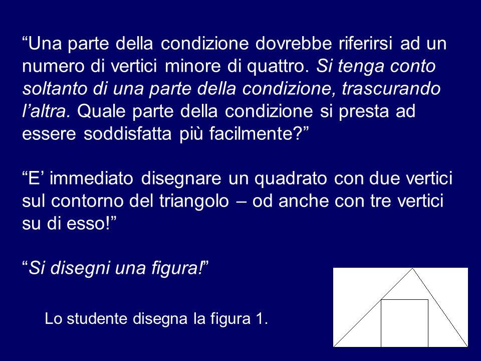 Una parte della condizione dovrebbe riferirsi ad un numero di vertici minore di quattro. Si tenga conto soltanto di una parte della condizione, trascu