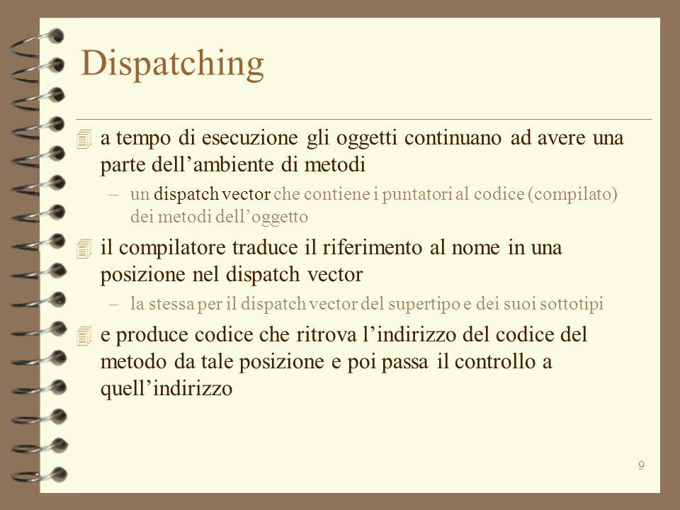 40 Implementazione della sottoclasse SortedI ntSet 2 public class SortedIntSet extends IntSet { private OrderedIntList els; // la rappresentazione // la funzione di astrazione: // (c) = c.els[1],..., c.els[c.sz] // linvariante di rappresentazione: // I (c) = c.els != null && c.sz = c.els.size().....