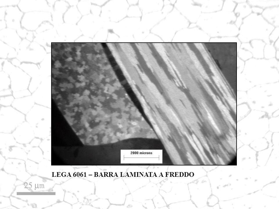LEGA 6061 – BARRA LAMINATA A FREDDO