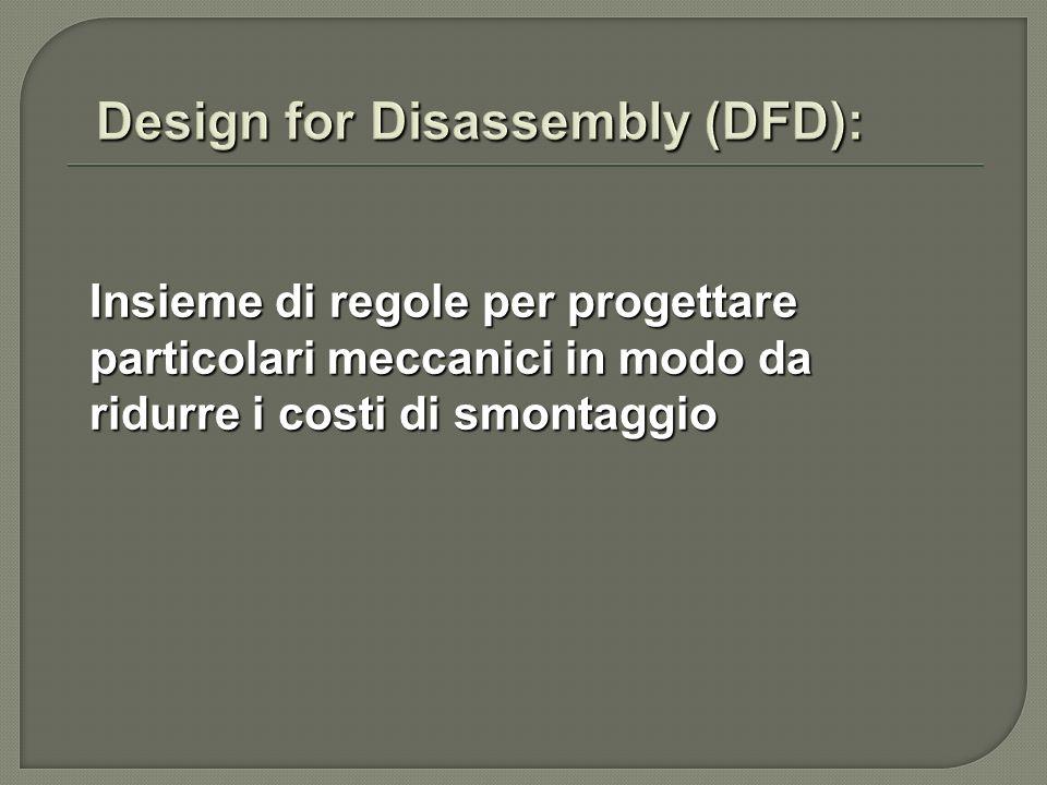 regole DFA regole specifiche del DFD