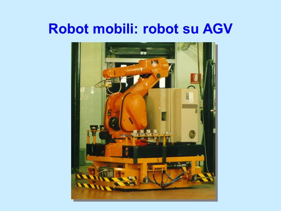 Robot mobili: robot su AGV
