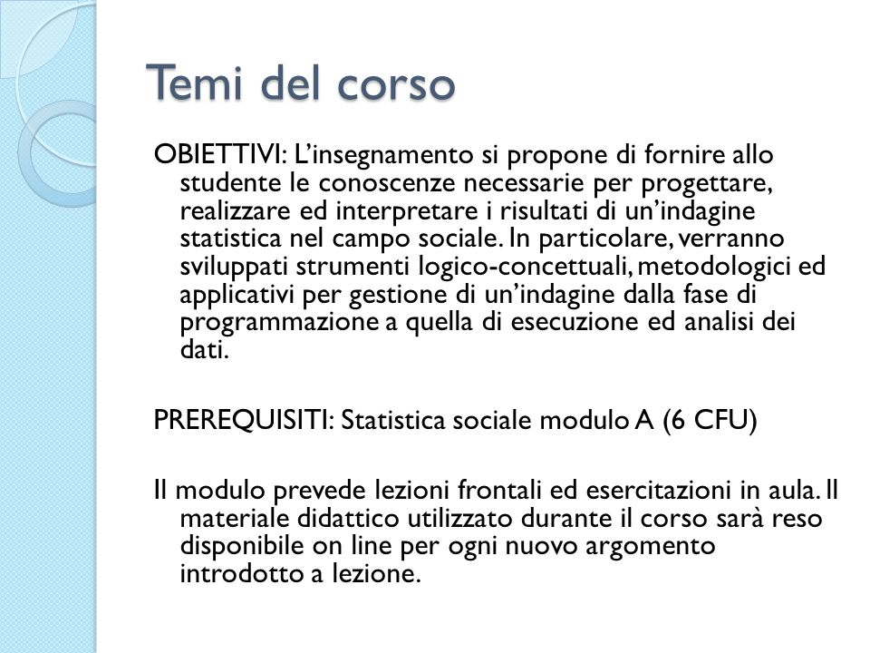 Accessibilità e chiarezza: Accessibility refers to the physical conditions in which users can obtain data: where to go, how to order, delivery time, clear pricing policy, convenient marketing conditions (copyright, etc.), availability of micro or macro data, various formats (paper, files, CD-ROM, Internet…), etc.