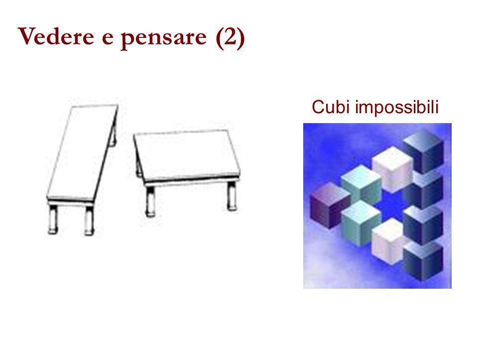 Vedere e pensare (2) Cubi impossibili