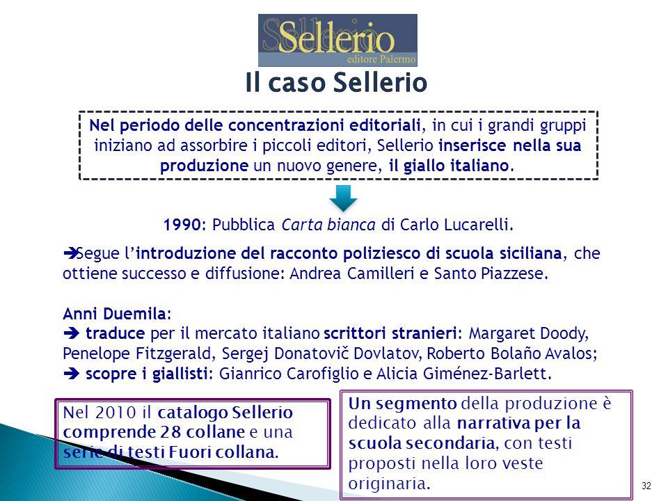 33 La casa editrice Voland è fondata a Roma nel 1995 da Daniela Di Sora.