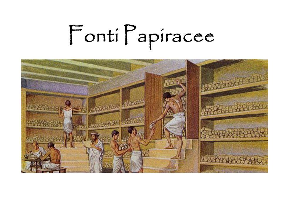 Fonti Papiracee