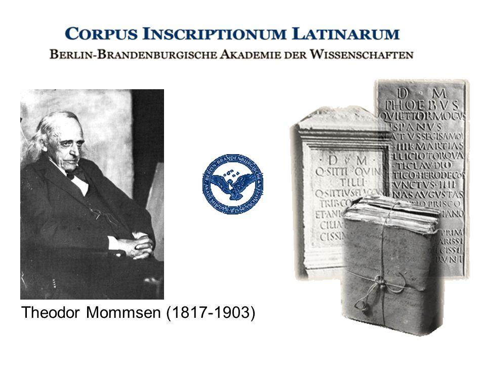 Theodor Mommsen (1817-1903)