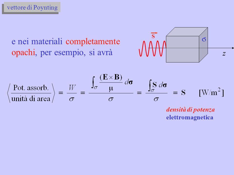 2.7) Londa elettromagnetica piana sinusoidale di frequenza = 100 kHz emessa da un sottomarino in navigazione di superficie, si propaga orizzontalmente nellaria e nellacqua ( r = 79).