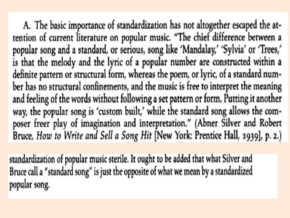 Definizione di popular music Definizioni quantitative (musica di massa, musica di consumo) Definizioni qualitative (musica del popolo, musica leggera o per il popolo) Definizioni negative (ciò che non è musica tradizionale o colta) R.