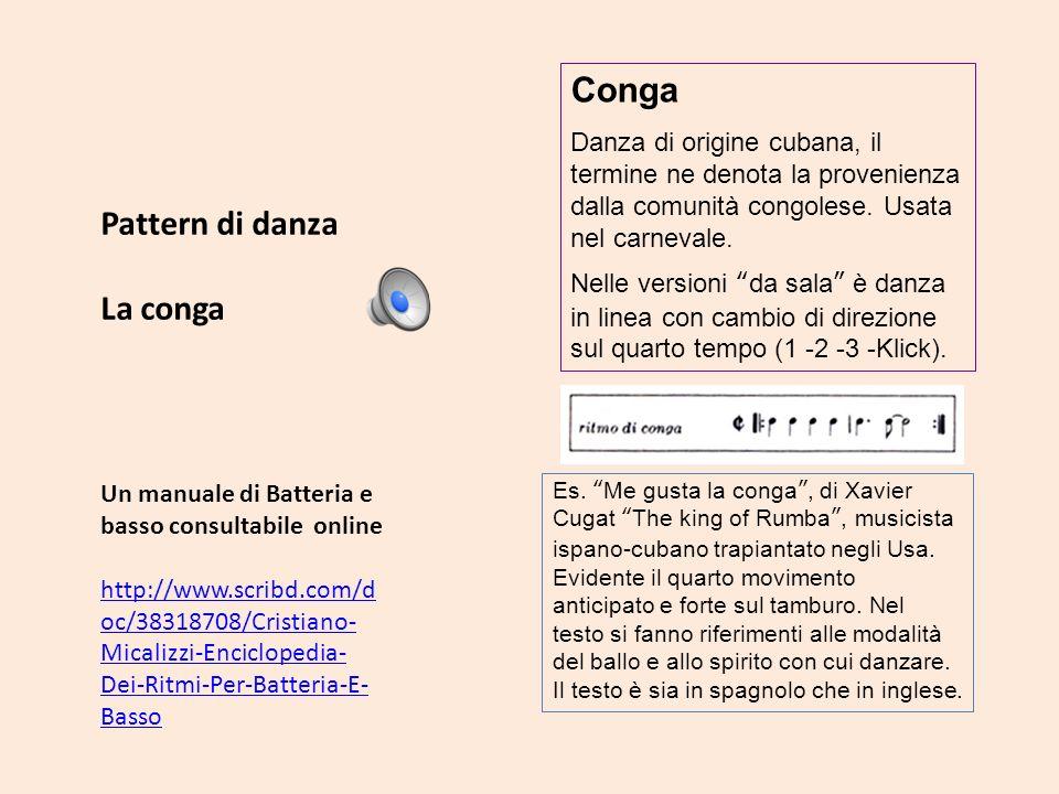 Un manuale di Batteria e basso consultabile online http://www.scribd.com/d oc/38318708/Cristiano- Micalizzi-Enciclopedia- Dei-Ritmi-Per-Batteria-E- Ba