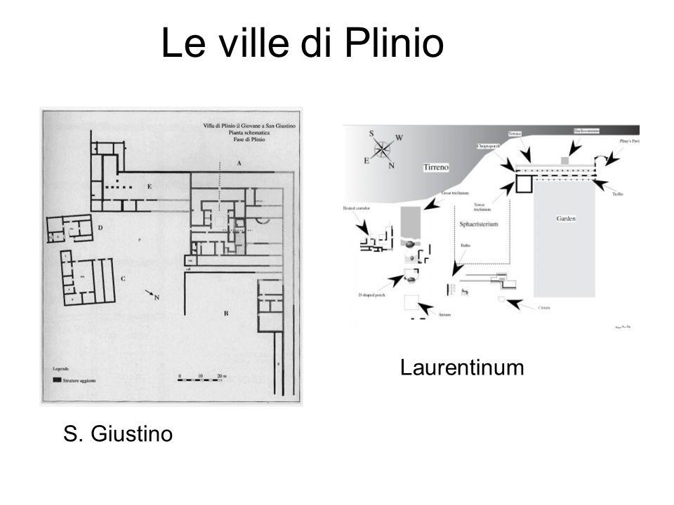 Le ville di Plinio S. Giustino Laurentinum