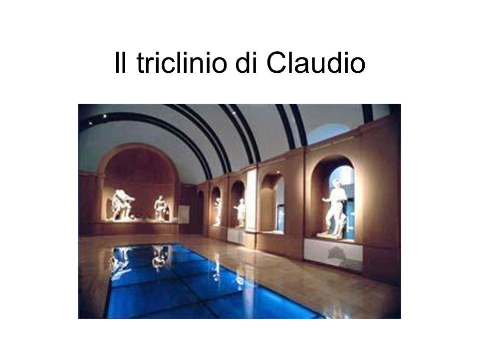 Il triclinio di Claudio