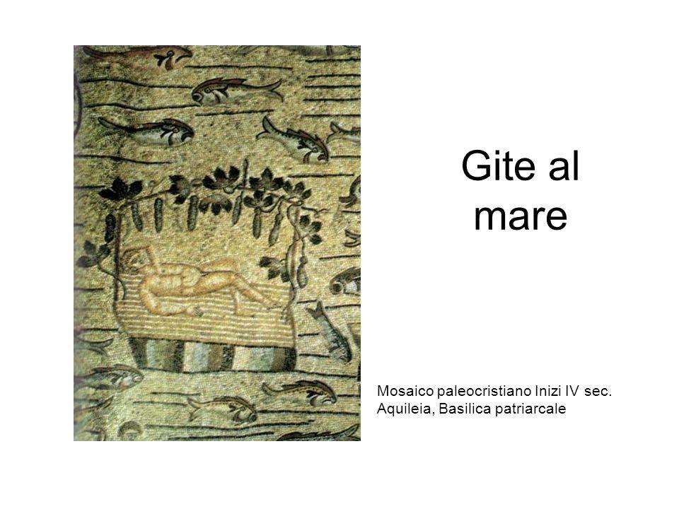 Gite al mare Mosaico paleocristiano Inizi IV sec. Aquileia, Basilica patriarcale