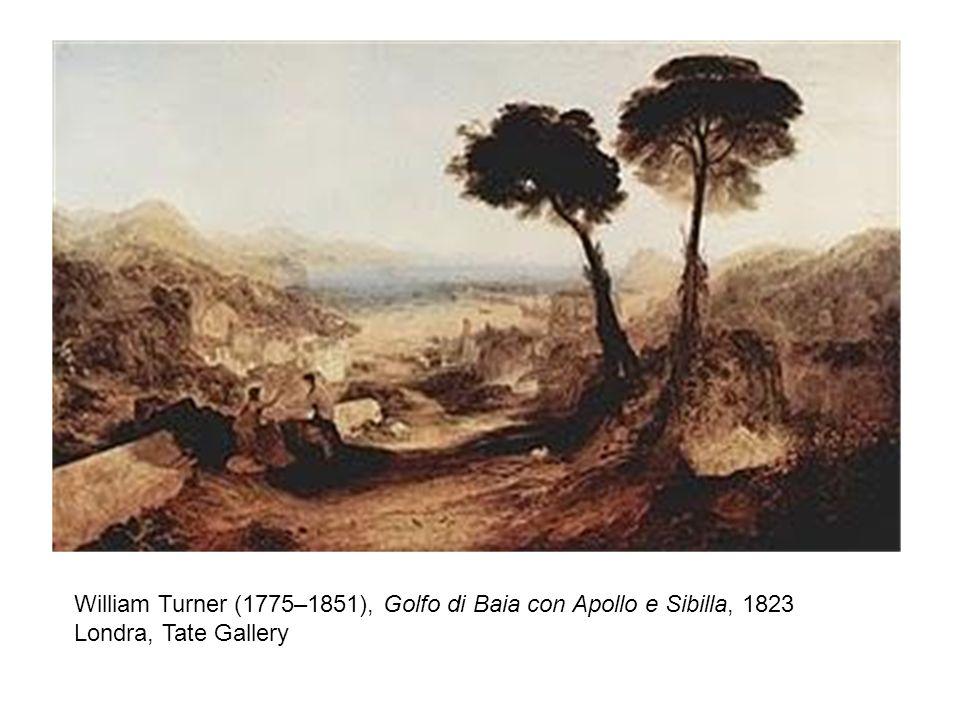 William Turner (1775–1851), Golfo di Baia con Apollo e Sibilla, 1823 Londra, Tate Gallery