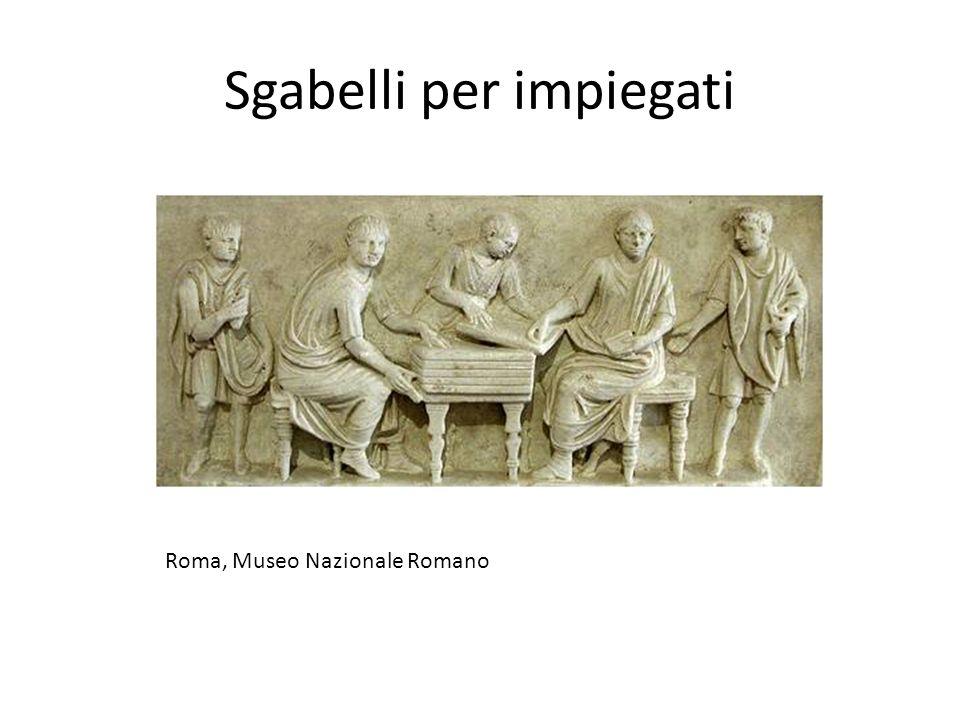 Sgabelli per impiegati Roma, Museo Nazionale Romano
