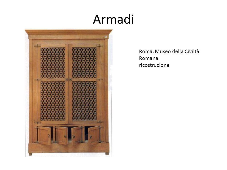 Armadi Roma, Museo della Civiltà Romana ricostruzione