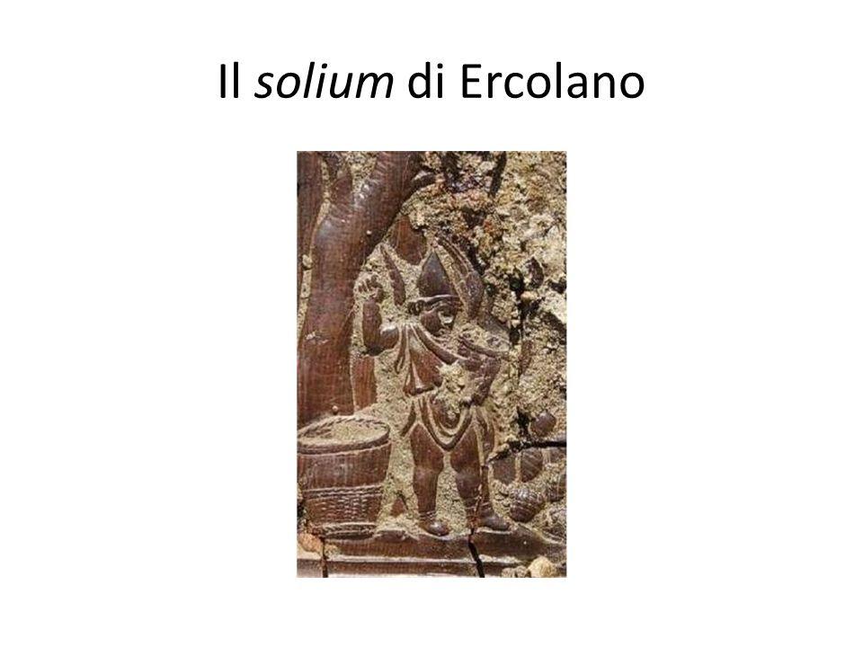 Il solium di Ercolano