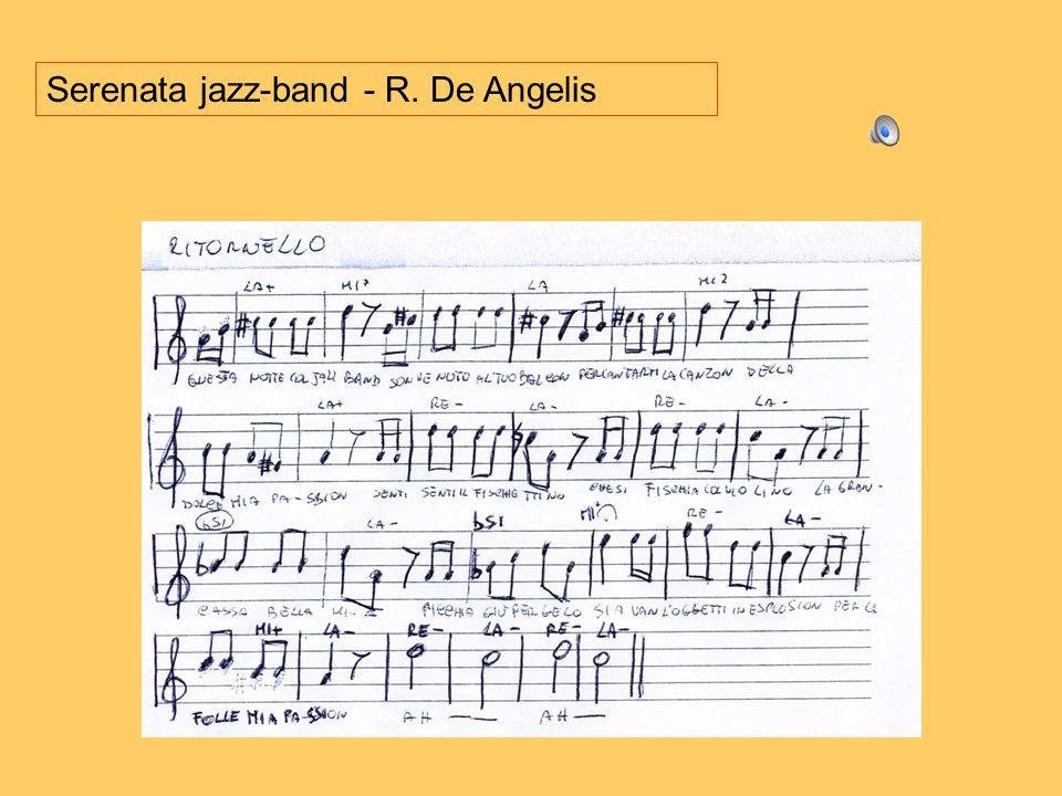 Serenata jazz-band - R. De Angelis