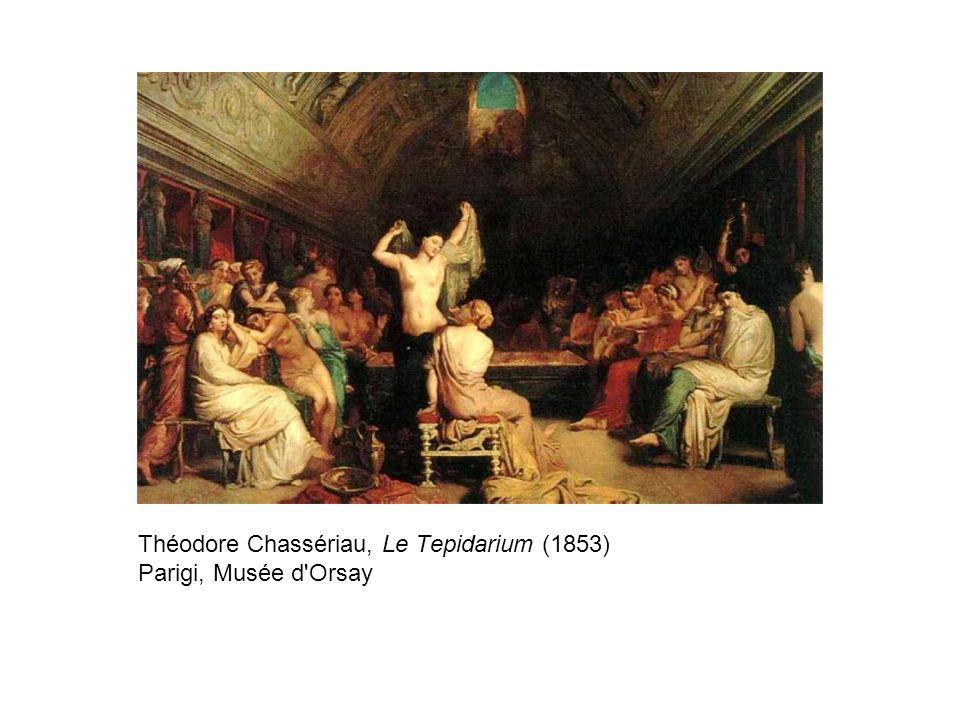 Théodore Chassériau, Le Tepidarium (1853) Parigi, Musée d'Orsay