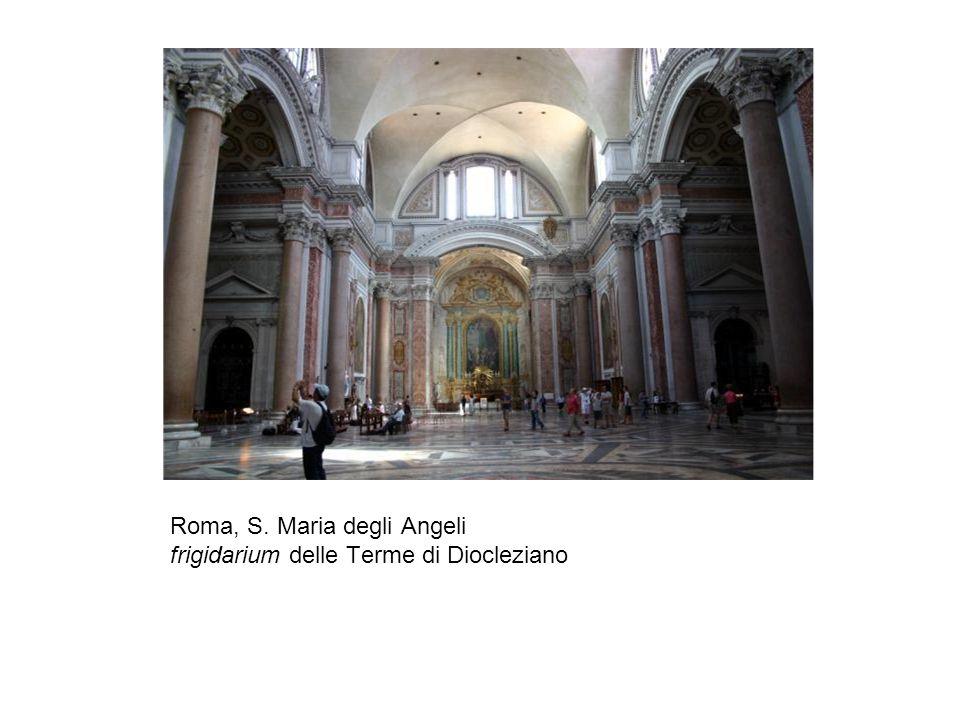 Roma, S. Maria degli Angeli frigidarium delle Terme di Diocleziano