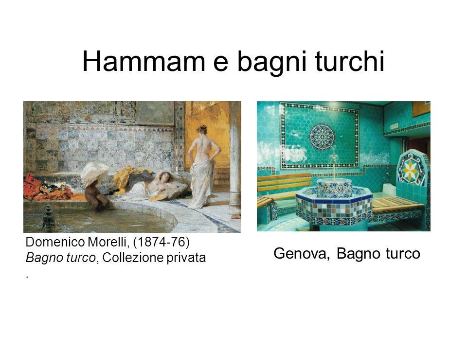 Hammam e bagni turchi Genova, Bagno turco Domenico Morelli, (1874-76) Bagno turco, Collezione privata.
