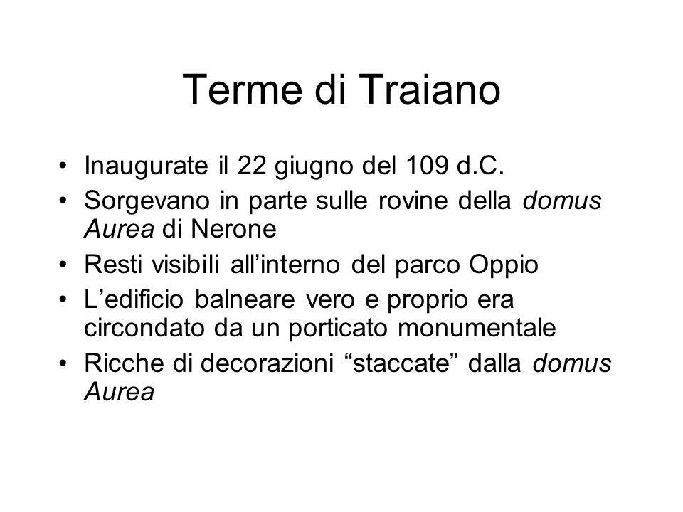 Segnale di apertura e chiusura delle terme Marziale, Epigrammi, XIV 163 Lascia la palla: il campanello (tintinabulum) delle terme suona.