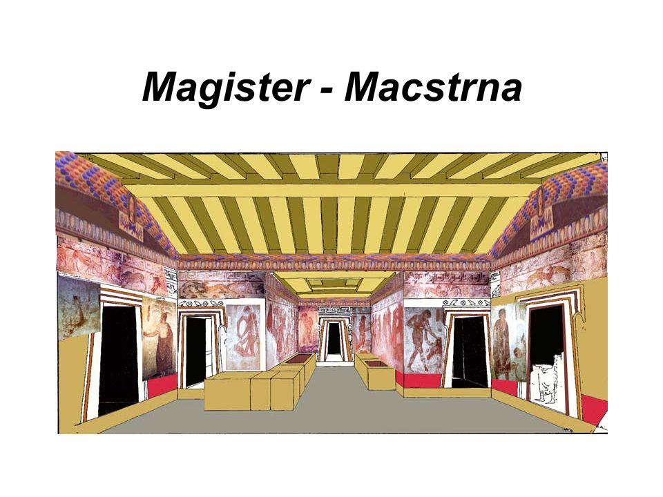 Magister - Macstrna
