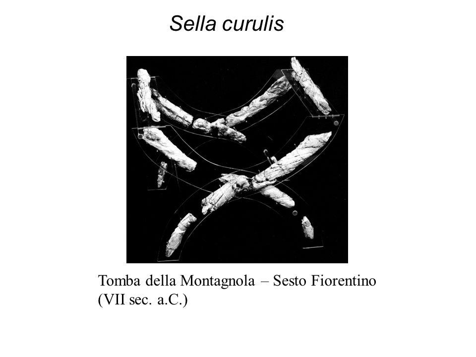 Sella curulis Tomba della Montagnola – Sesto Fiorentino (VII sec. a.C.)