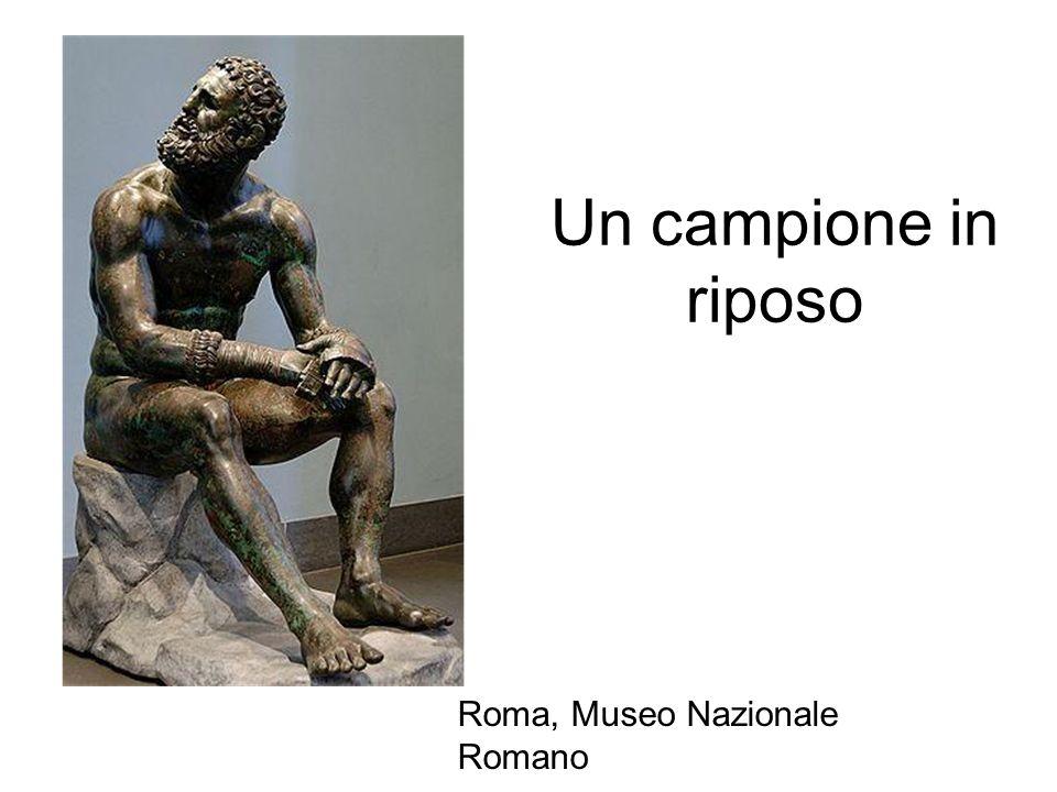 Un campione in riposo Roma, Museo Nazionale Romano