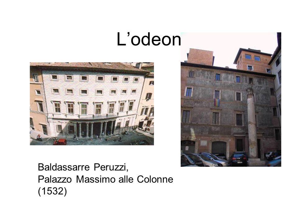 Lodeon Baldassarre Peruzzi, Palazzo Massimo alle Colonne (1532)