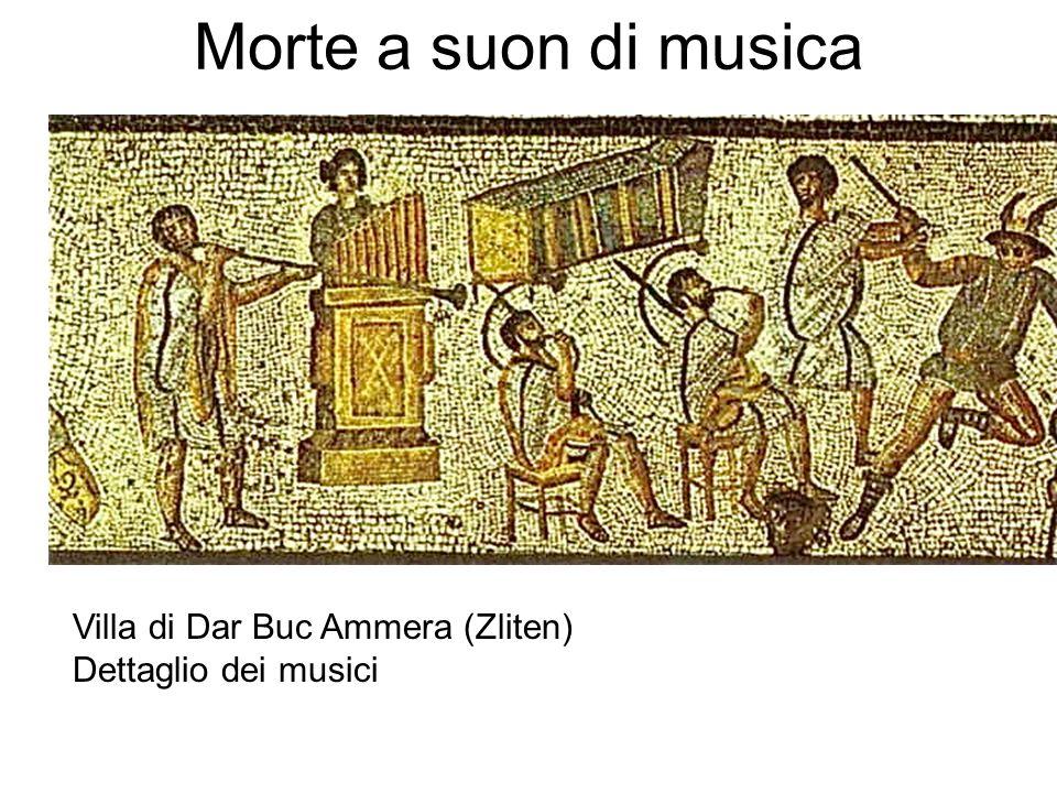 Morte a suon di musica Villa di Dar Buc Ammera (Zliten) Dettaglio dei musici