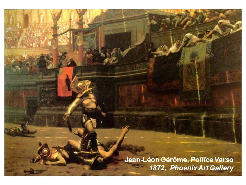 Jean-Léon Gérôme, Pollice Verso 1872, Phoenix Art Gallery