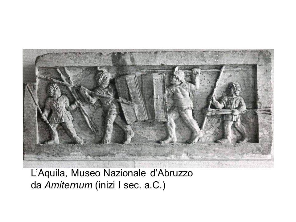 LAquila, Museo Nazionale dAbruzzo da Amiternum (inizi I sec. a.C.)