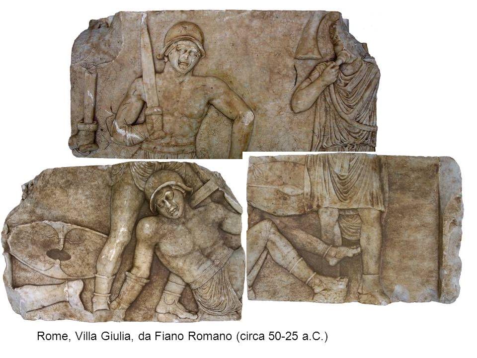 Rome, Villa Giulia, da Fiano Romano (circa 50-25 a.C.)