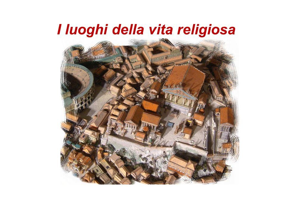I luoghi della vita religiosa