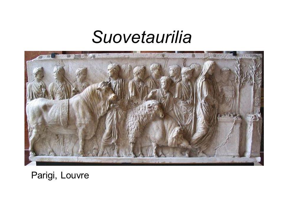 Suovetaurilia Parigi, Louvre