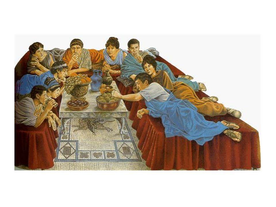 Lucullo e le sue cene PLUTARCO, vita di Lucullo 40-43 I pasti quotidiani di Lucullo erano come quelli di un neoricco.