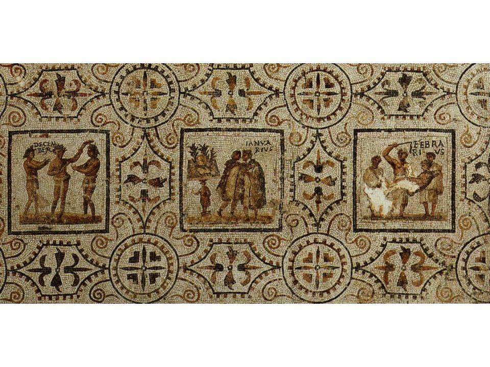 Calendario dipinto da Ostia Città del Vaticano, Musei Vaticani