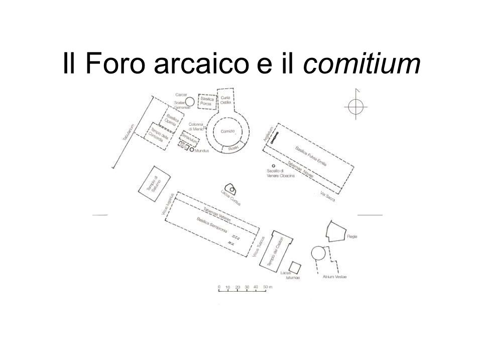 Il Foro arcaico e il comitium