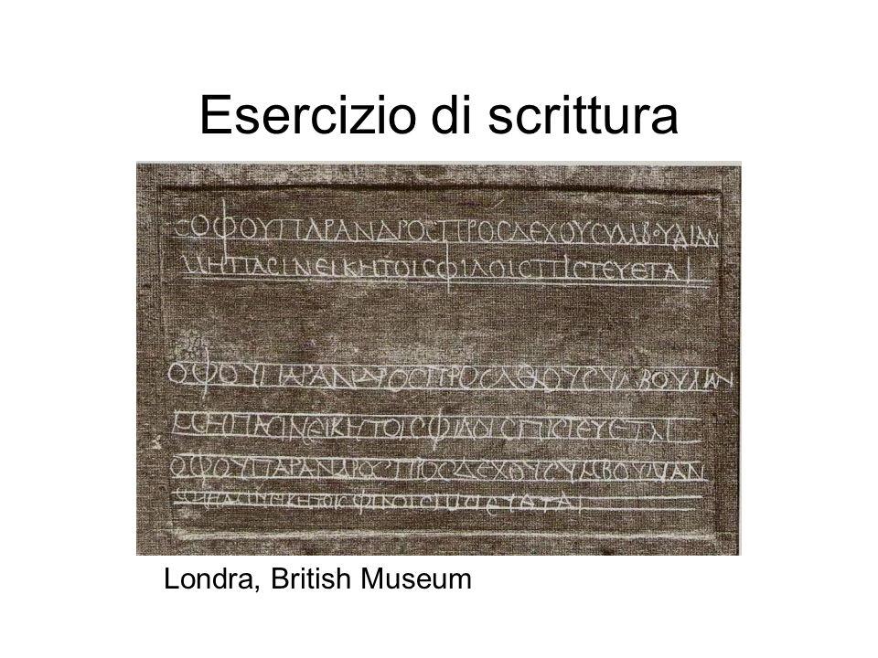 Esercizio di scrittura Londra, British Museum