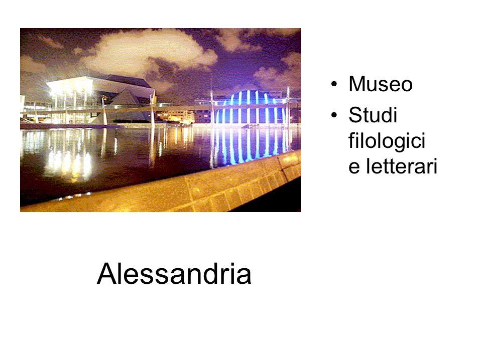 Alessandria Museo Studi filologici e letterari
