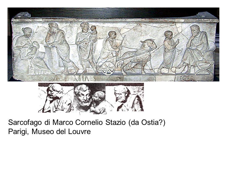 Sarcofago di Marco Cornelio Stazio (da Ostia?) Parigi, Museo del Louvre