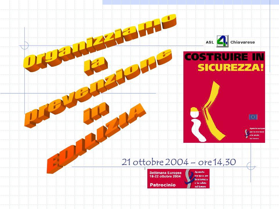 21 ottobre 2004 – ore 14,30