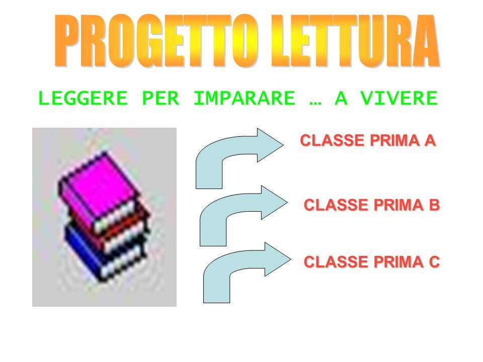 LEGGERE PER IMPARARE … A VIVERE CLASSE PRIMA A CLASSE PRIMA B CLASSE PRIMA C