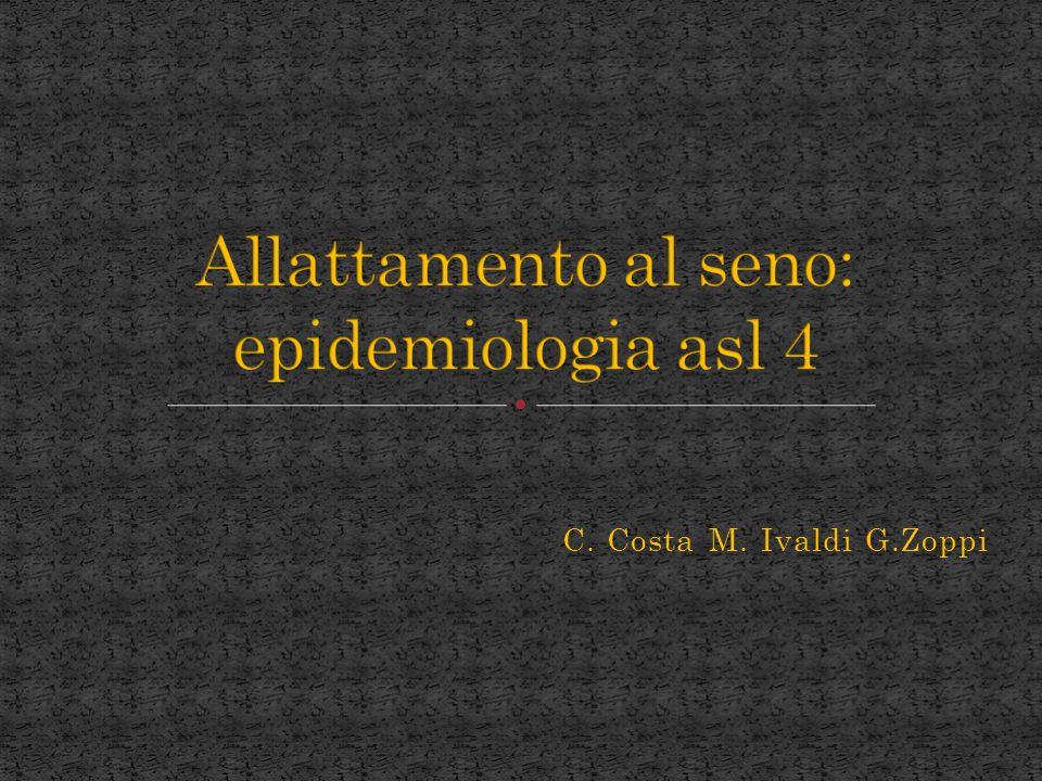 C. Costa M. Ivaldi G.Zoppi