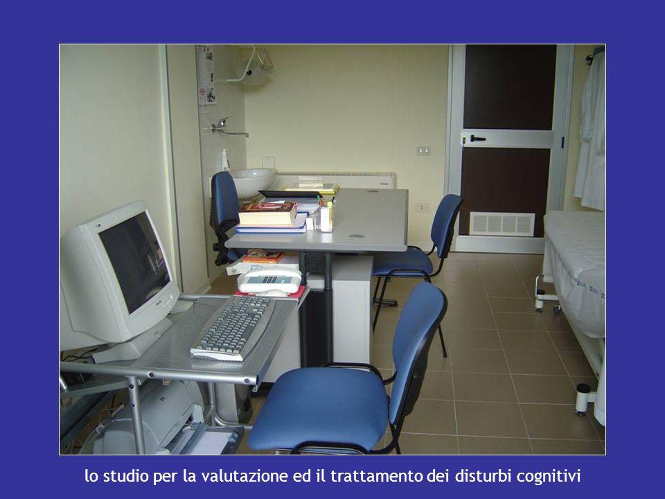 lo studio per la valutazione ed il trattamento dei disturbi cognitivi