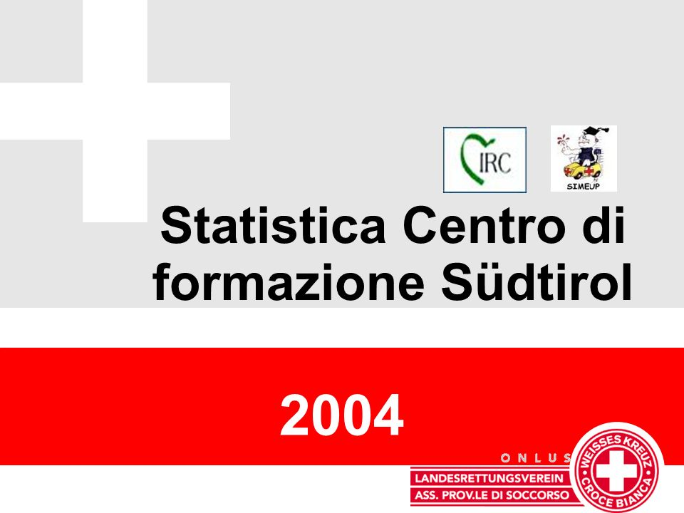 Statistica Centro di formazione Südtirol 2004